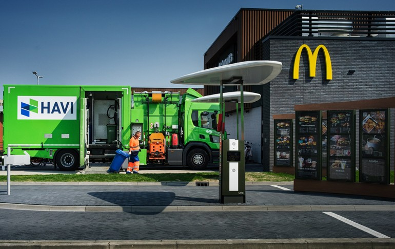 McDonald's promotes a new industrial symbiosis project
