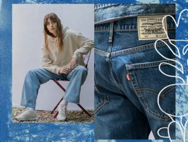 Sustainable jeans collection by Levi's