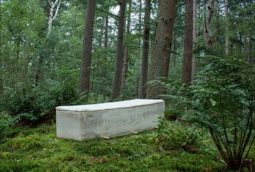 The first coffin that becomes one with nature