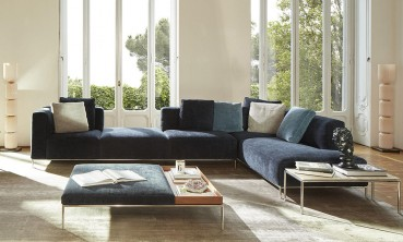Cassina: Sofa collection with recycled PET fiber padding