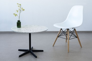 Customized furniture made of recycled plastic