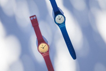 Swiss watches made in bio-plastic