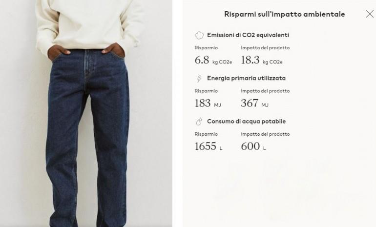 H&M e Lee: misurare e comunicare l'impatto ambientale degli abiti