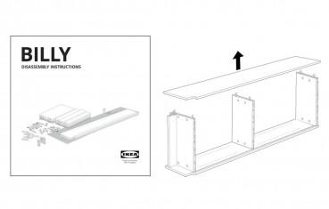 Ikea: istruzioni per il disassemblaggio