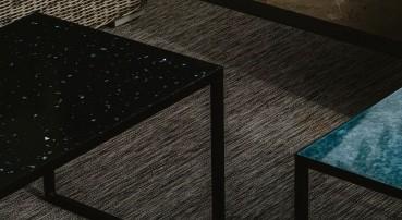 Tavoli in HIPS riciclato e riciclabile