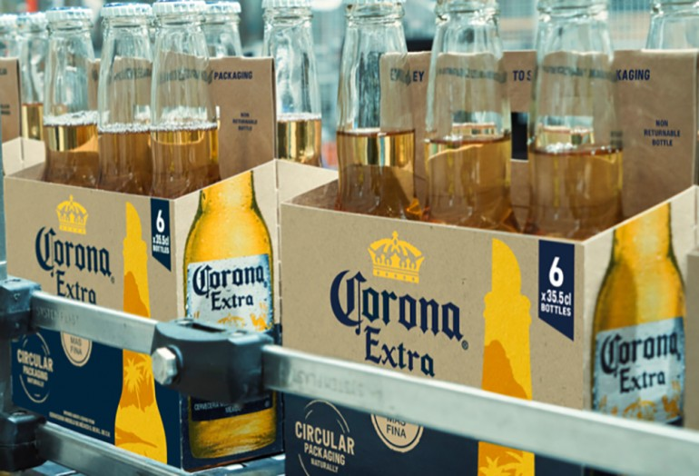 Corona: circular packaging obtained by using barley scraps
