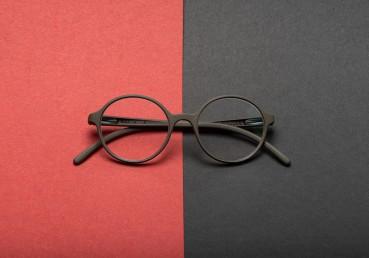 Designer glasses made with castor seeds