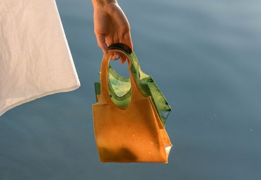 Shopping bag biodegradabile
