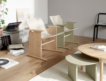 Disassemblable seat made from renewable materials