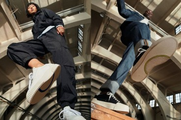 H&M: sneakers collection in banana fiber