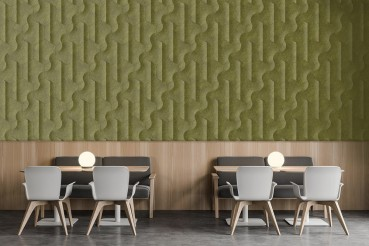Panels and wall coverings made from agricultural waste