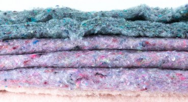 Materiale in cashmere riciclato