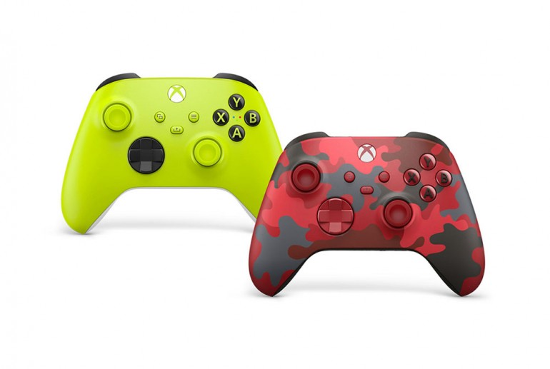 Xbox Wirelss Controllers made of recycled resins