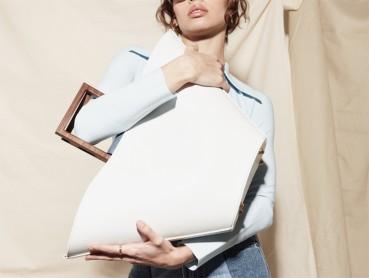 Elegant bags made of circular materials