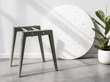 Modular table system made of circular materials