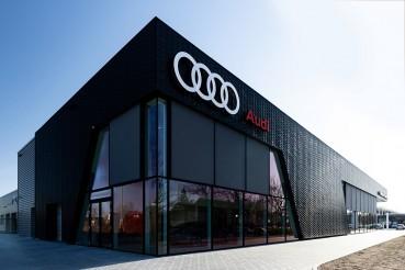 Flagship store Audi realizzato in materiali circolari CO2 neutral