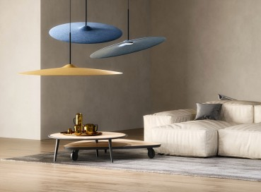 Recycled PET pendant lamps