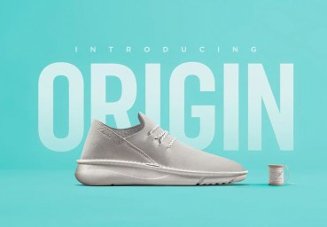 Shoes made of circular materials without the use of glues
