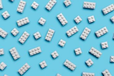Primo prototipo di mattoncino LEGO in PET riciclato