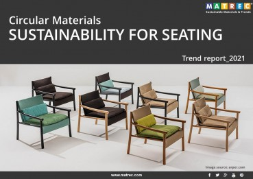 CIRCULAR MATERIALS – SUSTAINABILITY FOR SEATING
