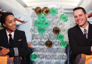 EasyJet: new uniforms made of recycled PET