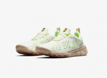 Nike sneakers made with pineapple leaves